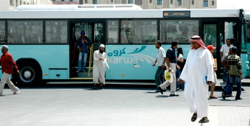 A bus in Doha. Jabiz Raisdana / Flickr